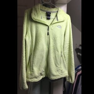 Yellow North Face Jacket